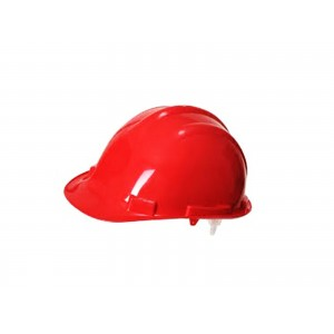 CASQUE DE CHANTIER ROUGE ACEM