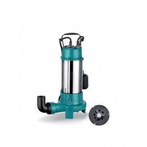 POMPE SUBMERSIBLE XSP14-7/1.1ID MONOPHASE EAUX CHARGEES...