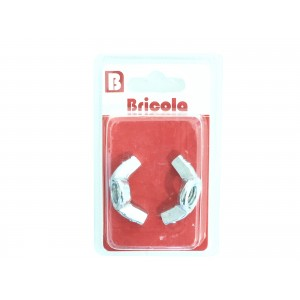 LOT DE 2 ÉCROU OREILLE M12 BRICOLA