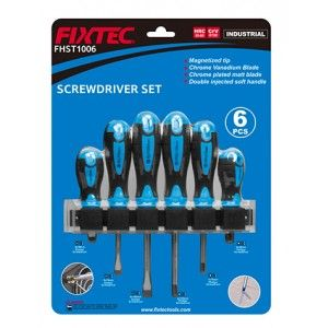 TOURNEVIS KIT DE 6 PIECES PRO FIXTEC