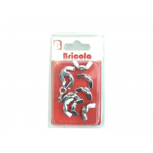LOT DE 10 ÉCROU OREILLE M4 BRICOLA