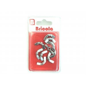 LOT DE 10 ÉCROU OREILLE M5 BRICOLA