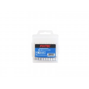 EMBOUT PH2*65MM 10 PIECES FIXTEC