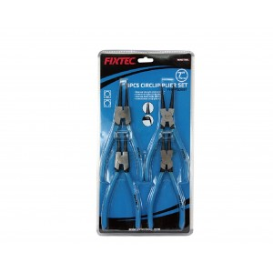 "SET DE 4 PINCES CIRCLIPS 180MM/7""  FIXTEC"