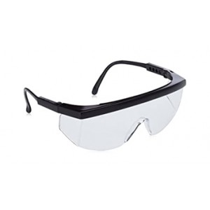 MASQUE DE  PROTECTION NOIR SAFETY GOGGLES
