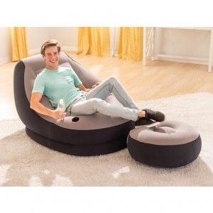 CHAISE LONGUE GONFLABLE 1.02x1.37M INTEX INTEX - 2
