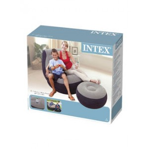 CHAISE LONGUE GONFLABLE 1.02x1.37M INTEX INTEX - 3