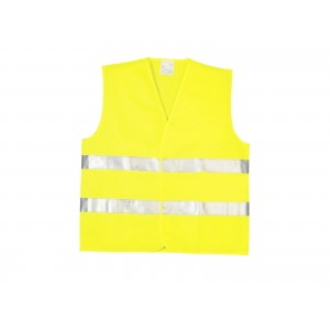 GILET DE SECURITE JAUNE TECHNO VEST