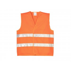 GILET DE SECURITE ORANGE TECHNO VEST