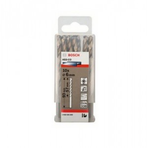 FORET METAL 6MM HSS-CO 10PIECES  BOSCH