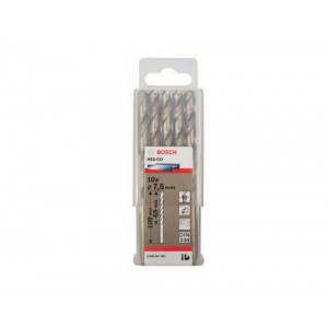 FORET METAL 7.5MM HSS-CO 10PIECES  BOSCH