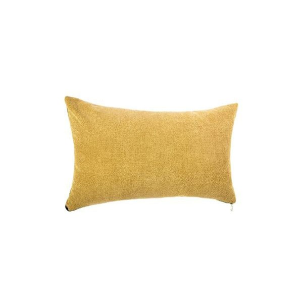 COUSSIN ZIPPER 30X50CM OCRE ATMOSPH