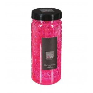 GEL CRYSTAL VASE ROSE 400ML