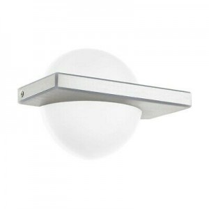 APPLIQUE MURALE LED H14 BLANC 11W 95772 EGLO
