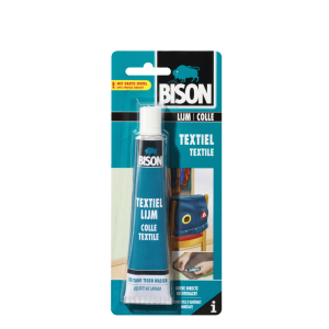 COLLE TEXTILE TUBE 50ML BISON