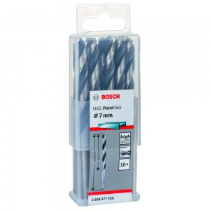 FORET METAL 7MM HSS-TEQ 10 PIECES BOSCH