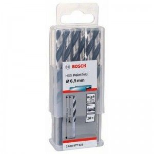 FORET METAL 6.5MM HSS-TEQ 10 PIECES BOSCH