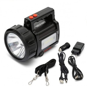 LAMPE TORCHE RECHARGEABLE 10W IP44  VELAMP