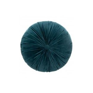 COUSSIN VELOUR D40CM TURQUOISE ATMOSPHERA
