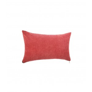 COUSSIN ZIPPER 30X50CM ROUGE ATMOSPHERA