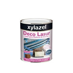 DECO LASUR BLEU BALTIQUE 750ML INTERIEUR XYLAZEL